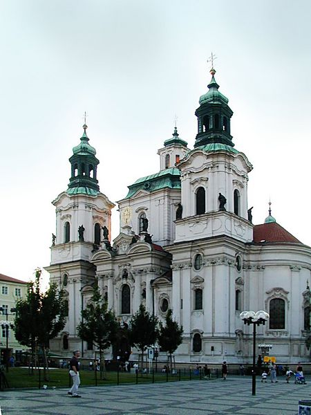 Prague, St. Nicolas Church. Image by Petr Novak, Wikipedia, (c) Creative Commons, CC-BY-SA.