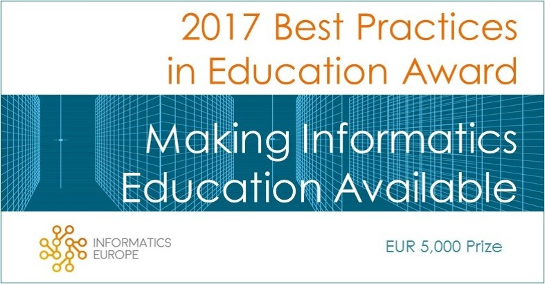 Call Open for 2017 Best Practices in Education Award