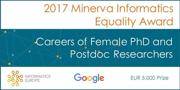 Call Open for 2017 Minerva Informatics Equality Award
