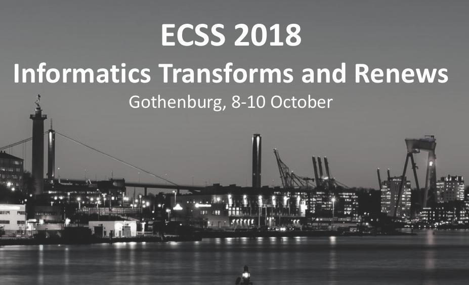 Informatics Europe - ECSS 2018, Gothenburg
